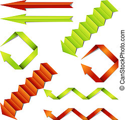 Paper arrows collection