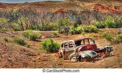 Old Timer - Abandoned car