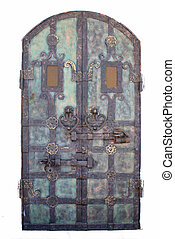 Door to a fairy tale - Details of a wrought door...