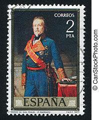portret, książę, San, miguel, Federico, Madrazo