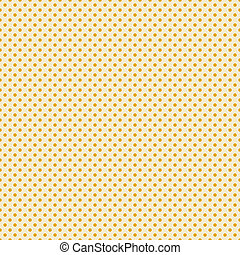 Seamless Polka Dot Background - Small gold polka dots on...