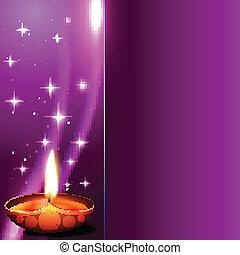 shiny diwali background - beautiful shiny hindu festival...