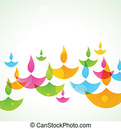 colorful diwali background - beautiful colorful stylish...