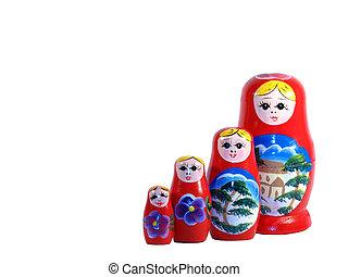 ruso, anidado, Muñecas