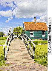 Country side landscape in The Netherlands