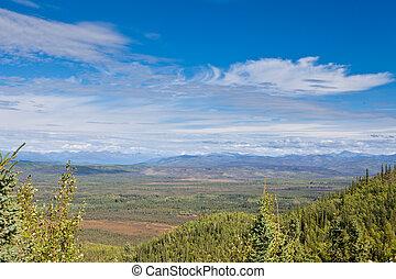 Central Yukon T Canada taiga and Ogilvie Mountains - Boreal...