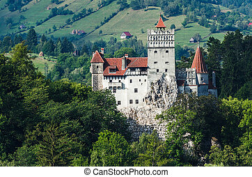 Bran Castle in Transylvania, Romania - The medieval Castle...