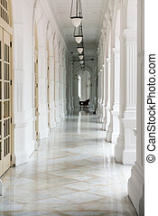 Passage in old classical building
