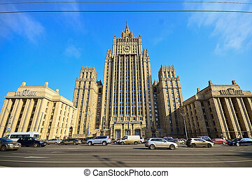 Ministry of Foreign Affairs buiding in Moscow