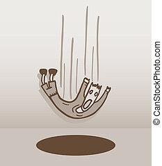 Vintage hole - Creative design of vintage hole