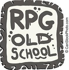 Old school  - Creative design of old school