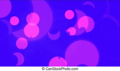 flow half-moon and circle background - flow half-moon circle...