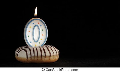Happy birthday. O years - The very first birthday....
