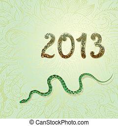 new 2013 vintage gold snake figures