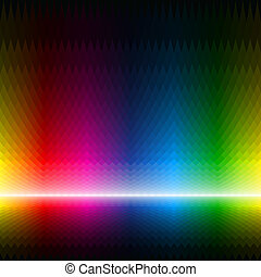Abstract multicolor background - Seamless vector...