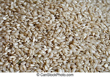 Integral rice - Dry integral rice as background