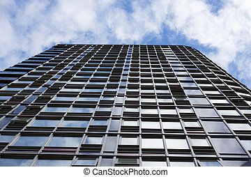 highrise, view from street