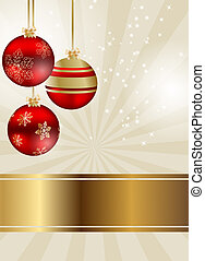 Abstract beauty Christmas and New Year background - Abstract...