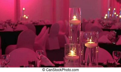 Candles with changing background - New Zealand A themed...