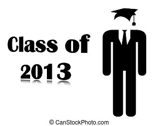 Background class of 2013 - Icon and text class of 2013...