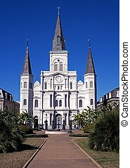 Saint Louis Cathedral, New orleans. - Saint Louis Cathedral,...