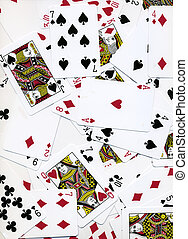 Playing Cards Background Design
