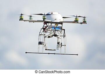 UAV, zángano, vuelo
