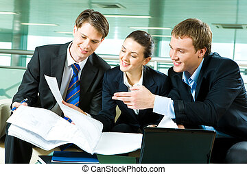 Business cooperation - Photo of business partners planning...