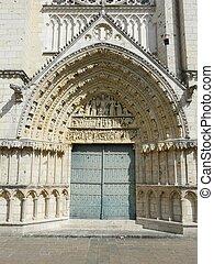 門口, 哥特式, 教堂