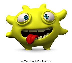 virus, feliz