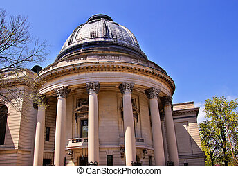 Yale University Woolsey Hall School of Music Building Dome