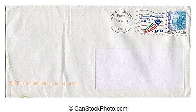 Mailing envelope - ITALIA - CIRCA 2012: Mailing envelope...
