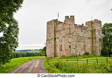 Dacre Castle - The 14th century Dacre Castle near Penrith,...