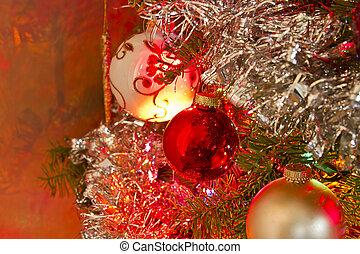 2, navidad, Ornamentos