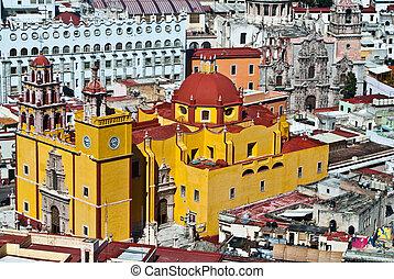 Mexican Colonial Architecture of Guanajuato Mexico -...