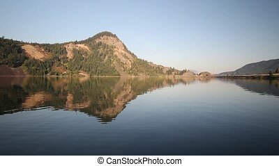 Drano Lake in Washington Reflection