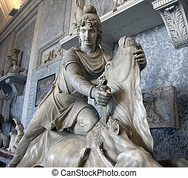 Antique statue in Vatican