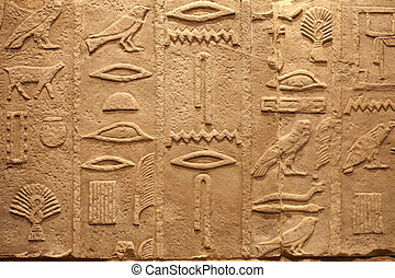 Egypt ancient writings on stone - Old Egypt ancient writings...