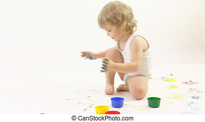 young painter