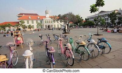 bicycle rental in kota, jakarta
