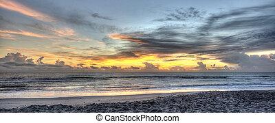 Sunrise in Indialantic, Florida