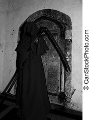 Grim Reaper - The Guardian door guarded by grim reaper