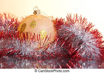 decorations for the Christmas tree - colorful New Year and...