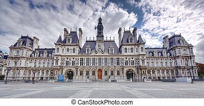 city hall in Paris