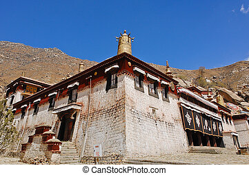 Sera Monastery is one of the great three Gelukpa university...