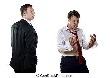 diferente, hombres, empresa / negocio, Sentimientos