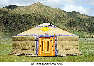 Mongolie, yurt