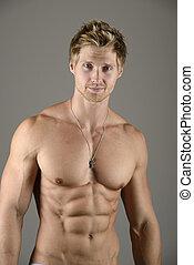 pectoral, músculo
