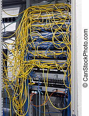 Messy router connections in a data center