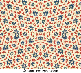 pop art pattern, abstract seamless texture; vector art...
